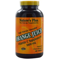 Nature's Plus Orange Juice 1000 mg