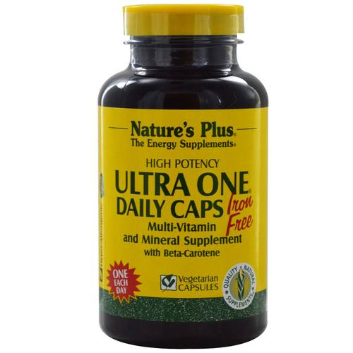 Ultra One Daily Caps, Iron Free