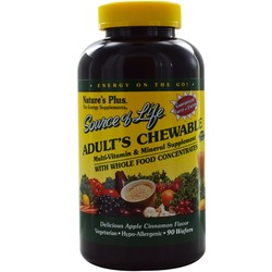Nature's Plus Source of Life Adult's Chewable