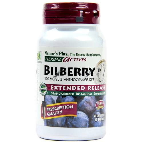 Bilberry Extended Release