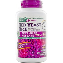 Nature's Plus Red Yeast Rice Extended Release Mini-Tabs