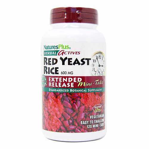 Nature's Plus Red Yeast Rice Extended Release - 600 mg - 120 Mini-Tabletas - 9003_front2020.jpg