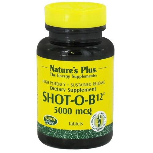 Shot-O-B12 5000 mcg Sustained Release