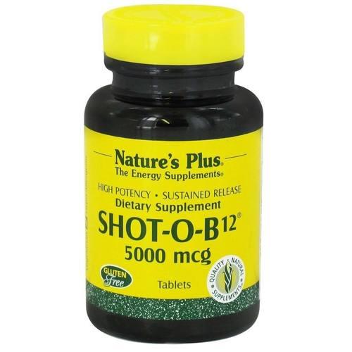 Nature S Plus Shot O B  Mcg
