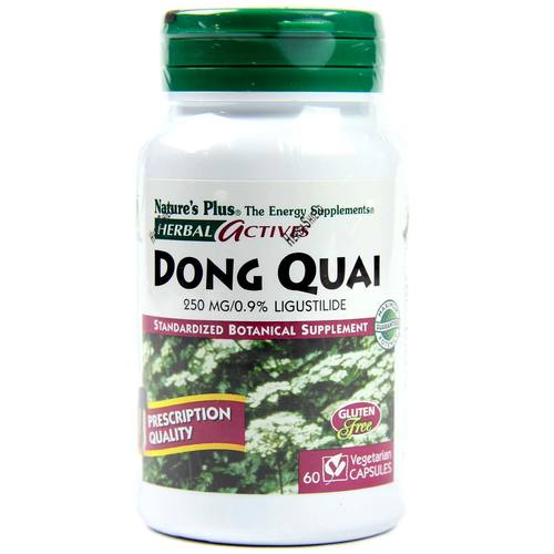 Nature's Plus Dong Quai 250 mg  - 60 VCapsules - 9032_1.jpg