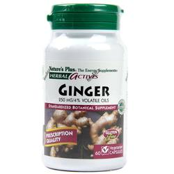 Nature's Plus Ginger 250 mg