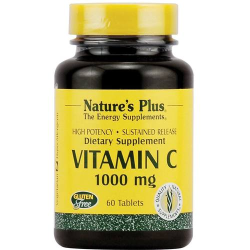 Vitamin C 1000 mg with Rose Hips Sustained Release