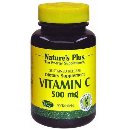 Vitamin C 500 mg with Rose Hips Sustained Release