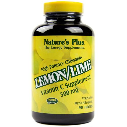Lemon/Lime Vitamin C 500 mg