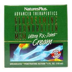 Nature's Plus Glucosamine Chondroitin MSM Ultra Rx-Joint Cream