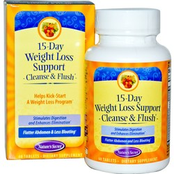 Nature's Secret 15 Day Weight Loss Cleanse and Flush