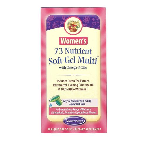 Women's 73 Nutrient Soft-Gel Multi