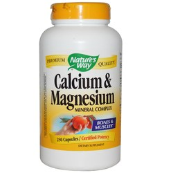 Nature's Way Calcium  Magnesium Mineral Complex