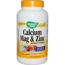 Nature's Way Calcium- Mag  Zinc Mineral Complex