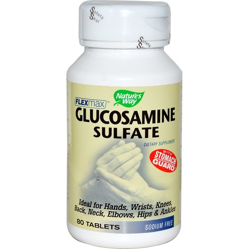 Nature's Way FlexMax Glucosamine Sulfate  - 80 Tablets - 108708_a.jpg