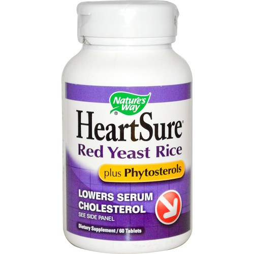 HeartSure Red Yeast Rice 600 mg plus Phytosterols