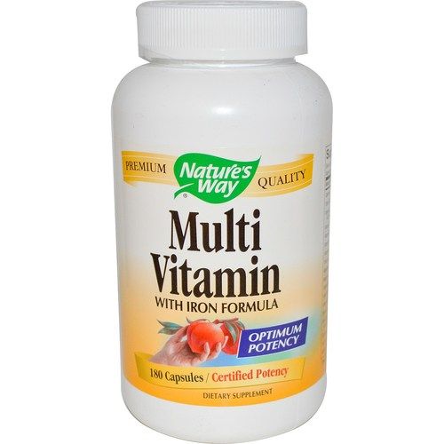 Multi Vitamin With Iron Formula