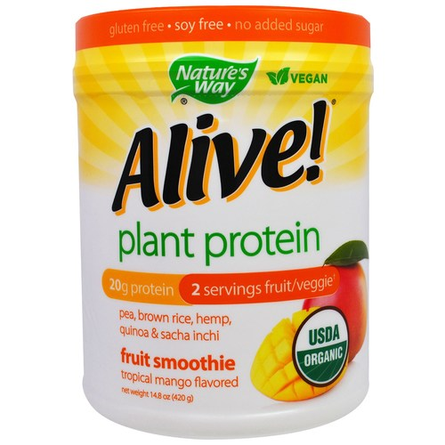 Organic Alive Plant Protein Smoothie