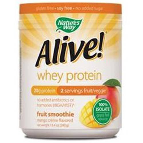 Alive Whey Protein Grass Fed Smoothie