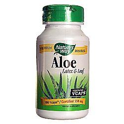 Nature's Way Aloe Vera Latex and Leaf 550 mg