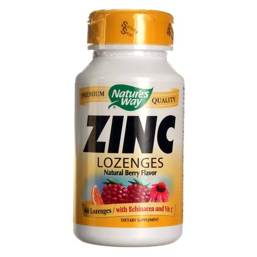 Nature's Way Zinc Lozenges Berry - 23 mg - 60 Lozenges - 20130108_107.jpg