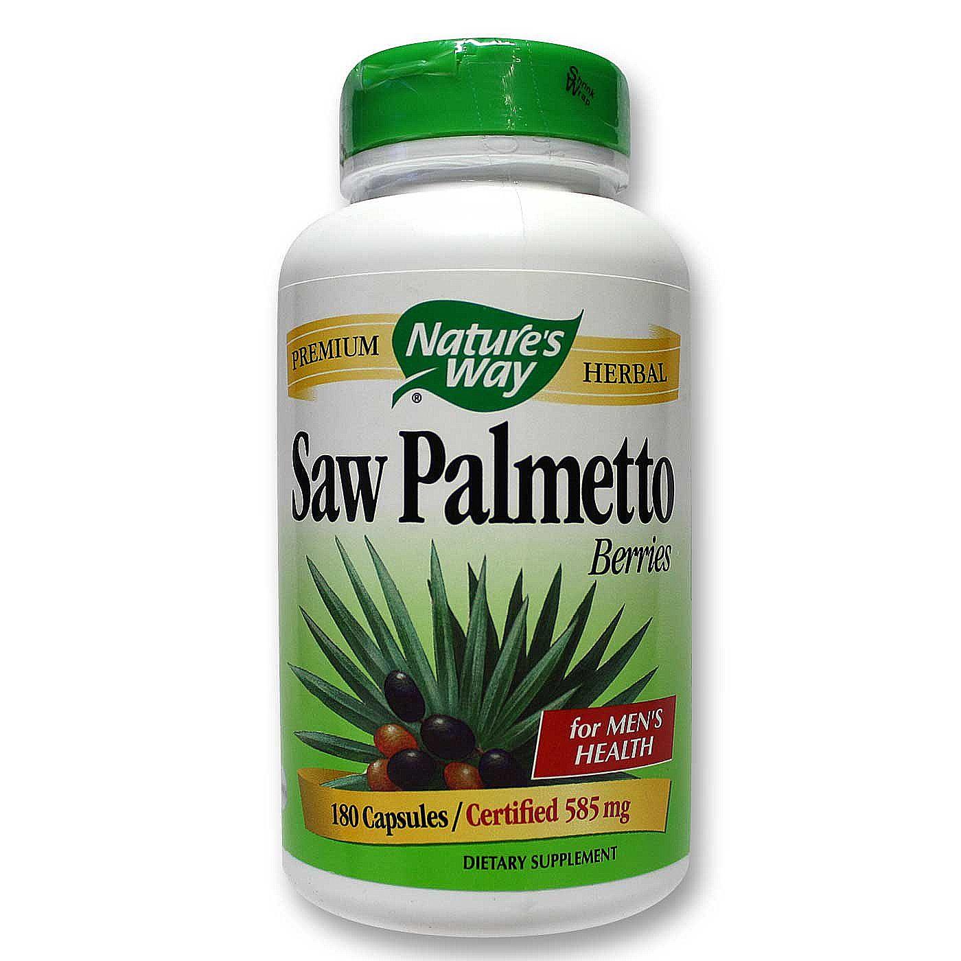Saw palmetto and sex drive