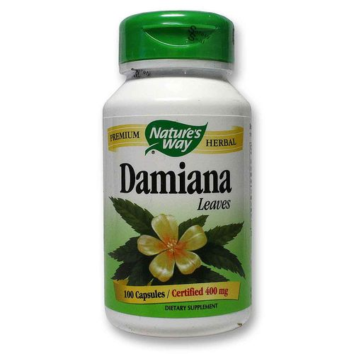 Damiana Leaves Caps