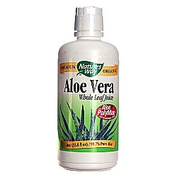 Nature's Way Aloe Vera Organic Whole Leaf Juice