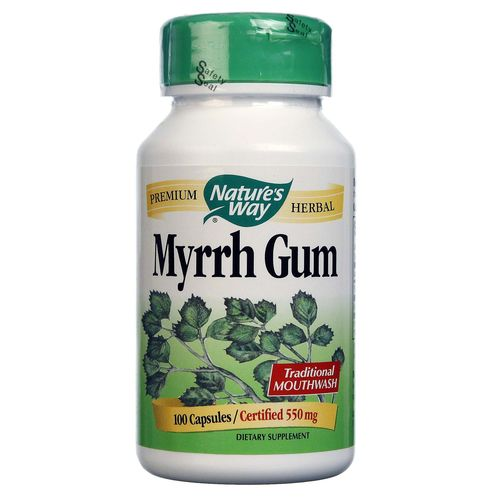 Nature's Way Myrrh Gum  - 550 mg - 100 Capsules - 033674151006_1.jpg