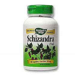 Nature's Way Schizandra Fruit