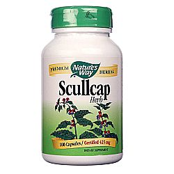 Nature's Way Scullcap Herb 425 mg