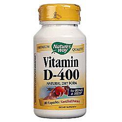 Nature's Way Vitamin D-400 Natural Dry Formula