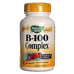 Nature's Way B-100 Complex  - 100 Caps