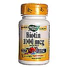 Nature's Way Biotin 1000 mcg Once Daily