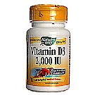 Nature's Way Vitamin D3 2,000 IU