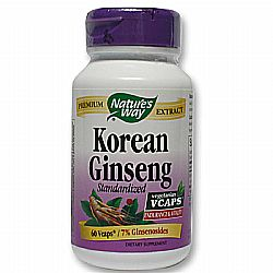 Nature's Way Korean Ginseng Standardized