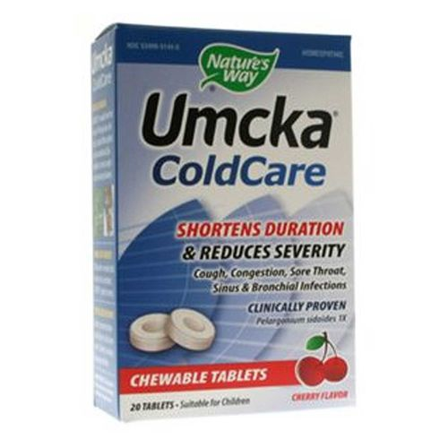 Umcka ColdCare Chewable
