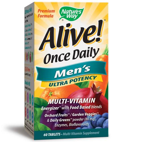 Alive! Once Daily Men's Ultra Potency