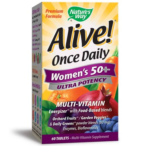 Alive!Once Daily Women's 50+ Ultra Potency
