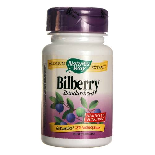 Bilberry Standardized 80 mg