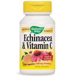 Nature's Way Echinacea  Vitamin C
