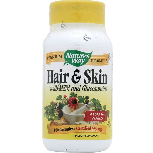 Hair and Skin with MSM and Glucosamine