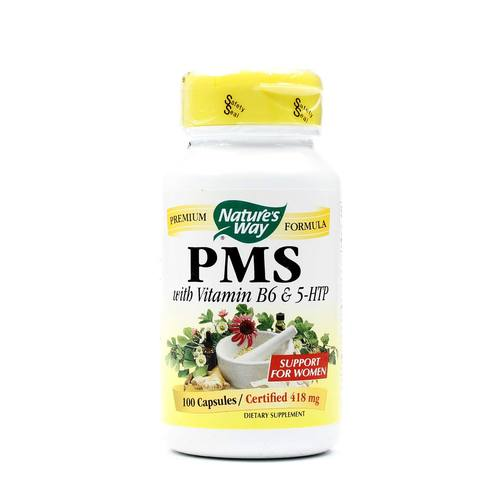 PMS with Vitamin B6 and 5-HTP