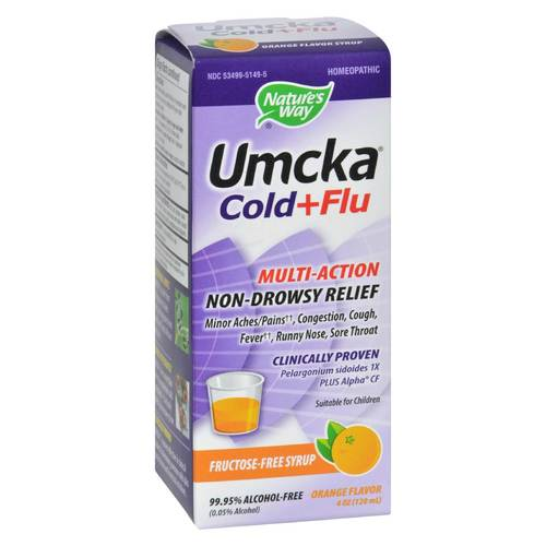 Umcka Cold and Flu Syrup