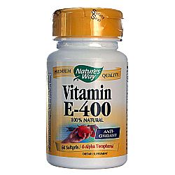 Nature's Way Vitamin E 400