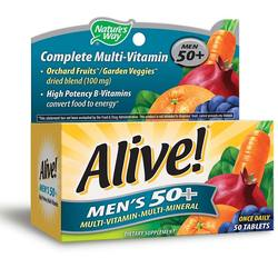 Nature's Way Alive Men's 50+ Multivitamin - Multimineral