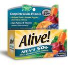 Alive Men's 50+ Multivitamin - Multimineral