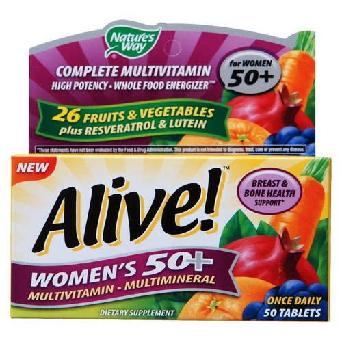 Alive! Women's 50+ Multivitamin