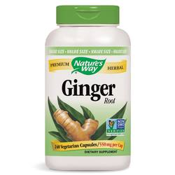 Nature's Way Ginger Root 550 mg
