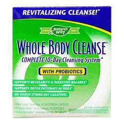 Nature's Way Whole Body Cleanse Complete 10 Day System